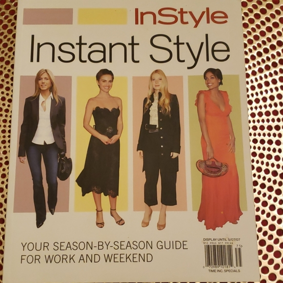 in style Other - IN STYLE INSTANT STYLE guide book.